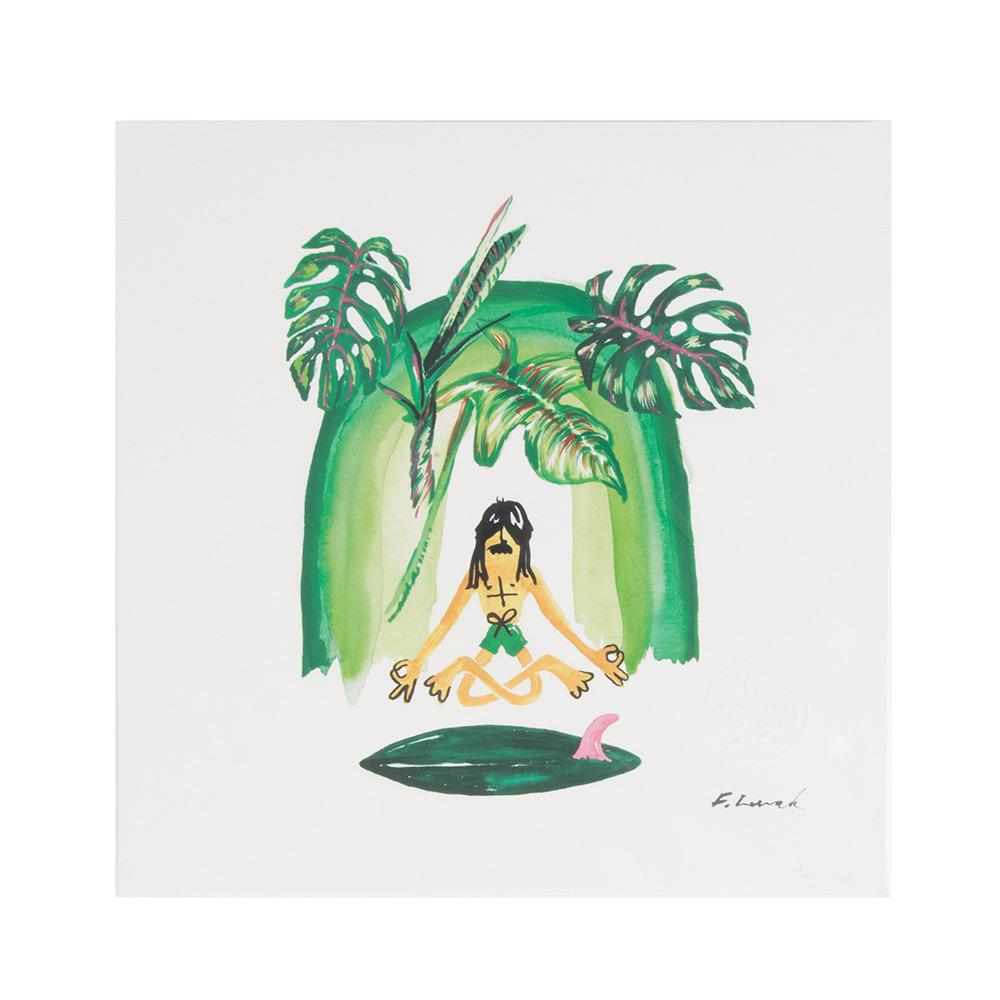 Aloha to Zen Green Cathedral Print