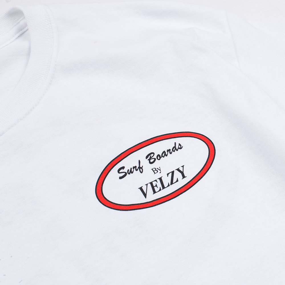 Velzy Surfboard Oval Mens Classic Tee