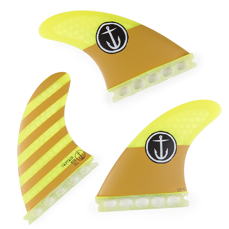 Captain Fin Single Tab Small Thruster Surfboard Fin
