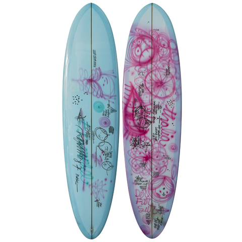 "Crime Surf 6'4"" Everydaysrad THR Surfboard"