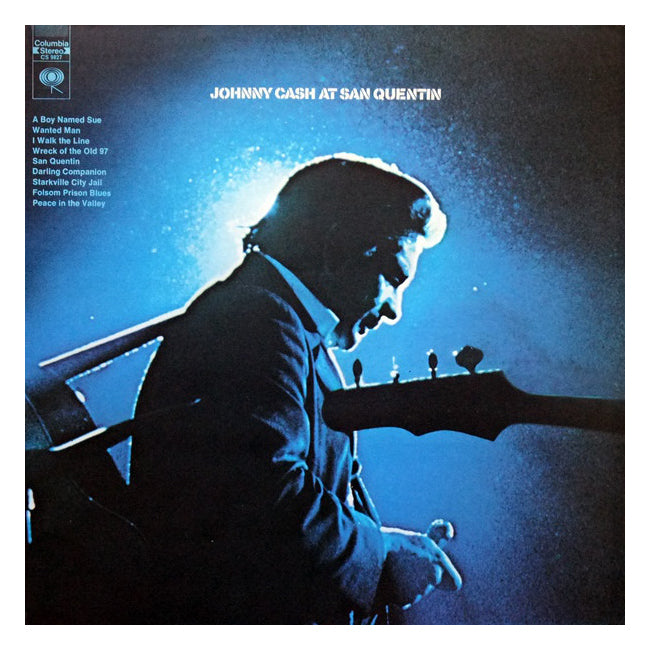 Johnny Cash At San Quentin Vinyl