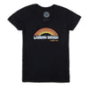 Thalia Surf Retro Rainbow Womens Tee