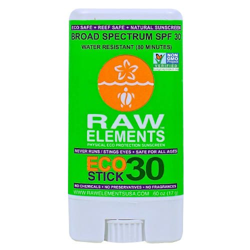 Raw Elements Eco Stick 30+ Sunscreen