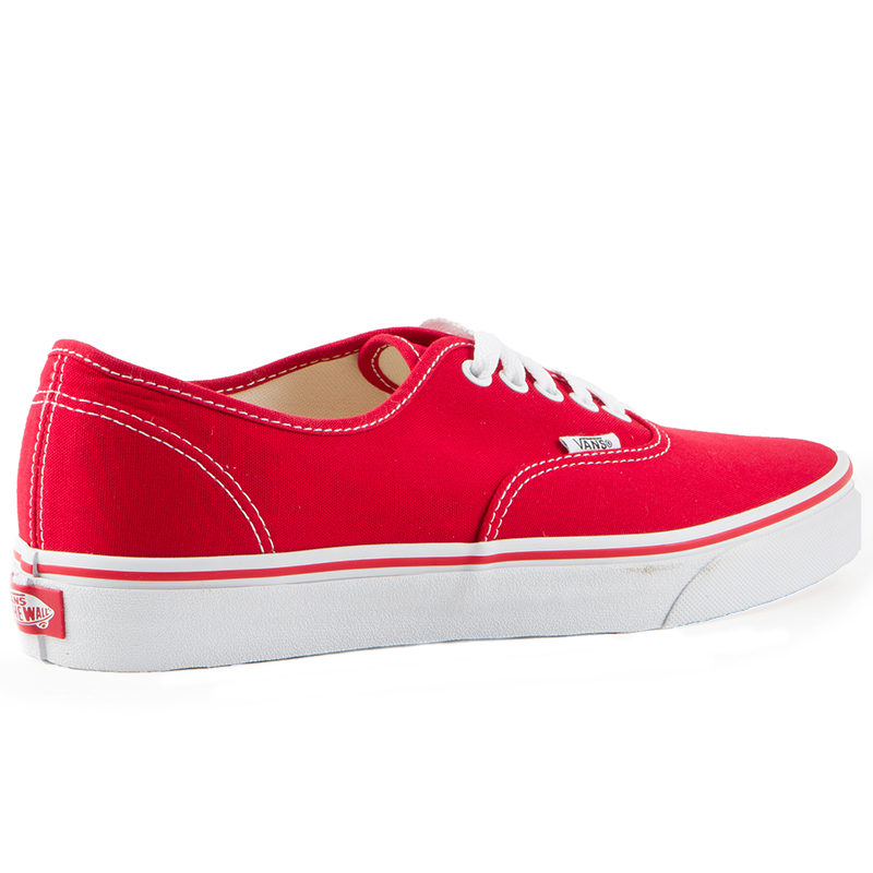 Vans Classics Authentic Red Mens Shoes