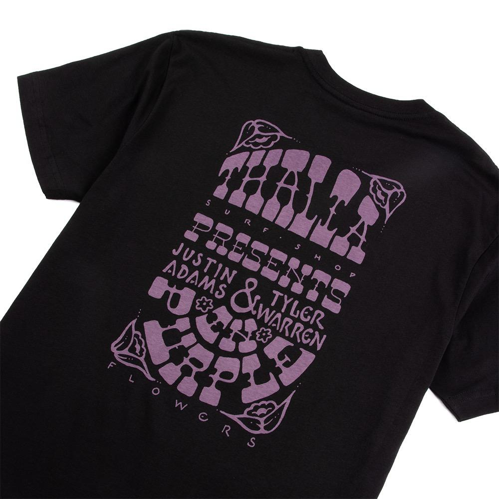 Thalia Surf x Tyler Warren x Justin Adams Limited Edition In Purple Mens Tee
