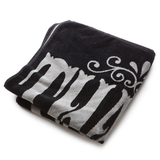 Thalia Surf Whip Cream Grey/Black Towel