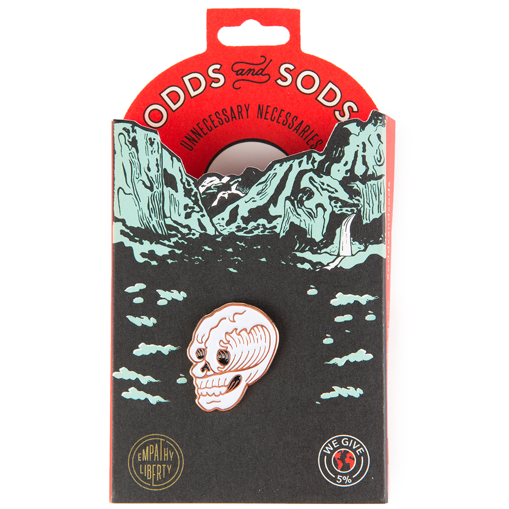 Odds and Sods Surf or Death Enamel Pin