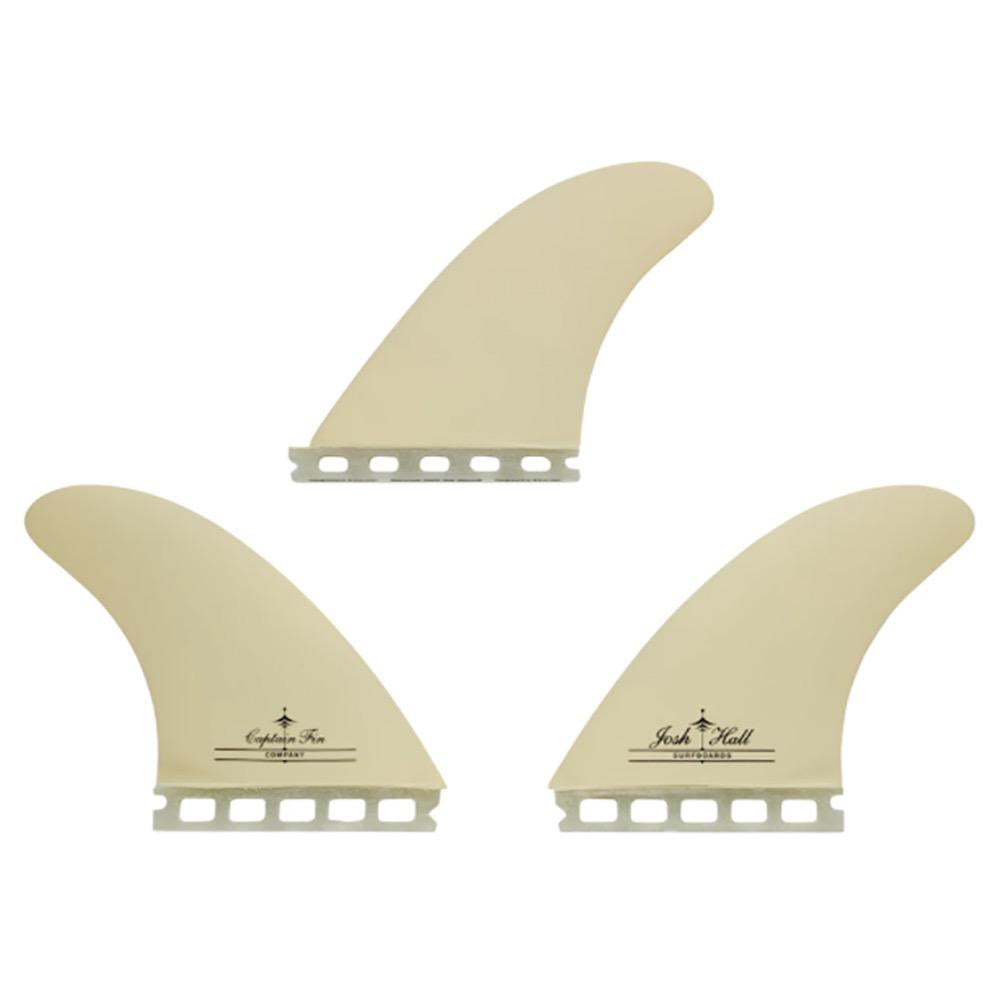 Captain Fin Josh Hall Thruster Single Tab Surfboard Fins