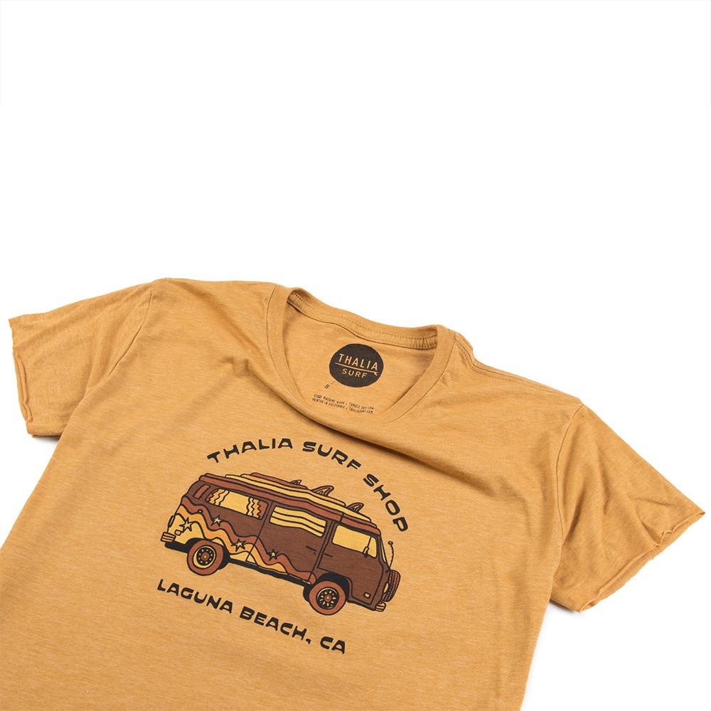 Thalia Surf 70's Bus Cropped Womens Tee