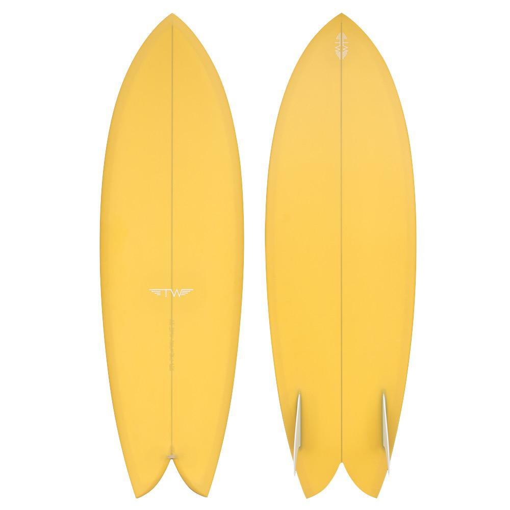 "Tyler Warren Dream Fish 5'8"" Surfboard"
