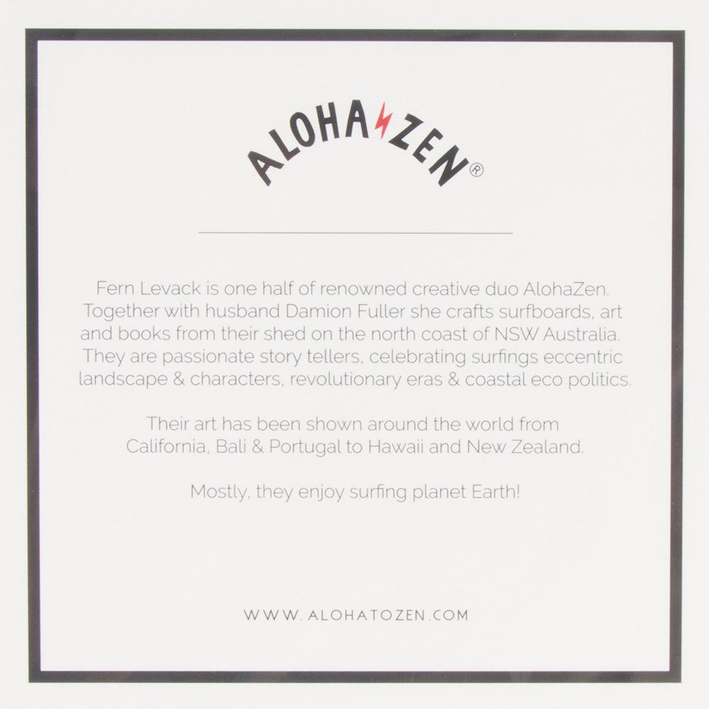 Aloha to Zen Paradise Revealed Print