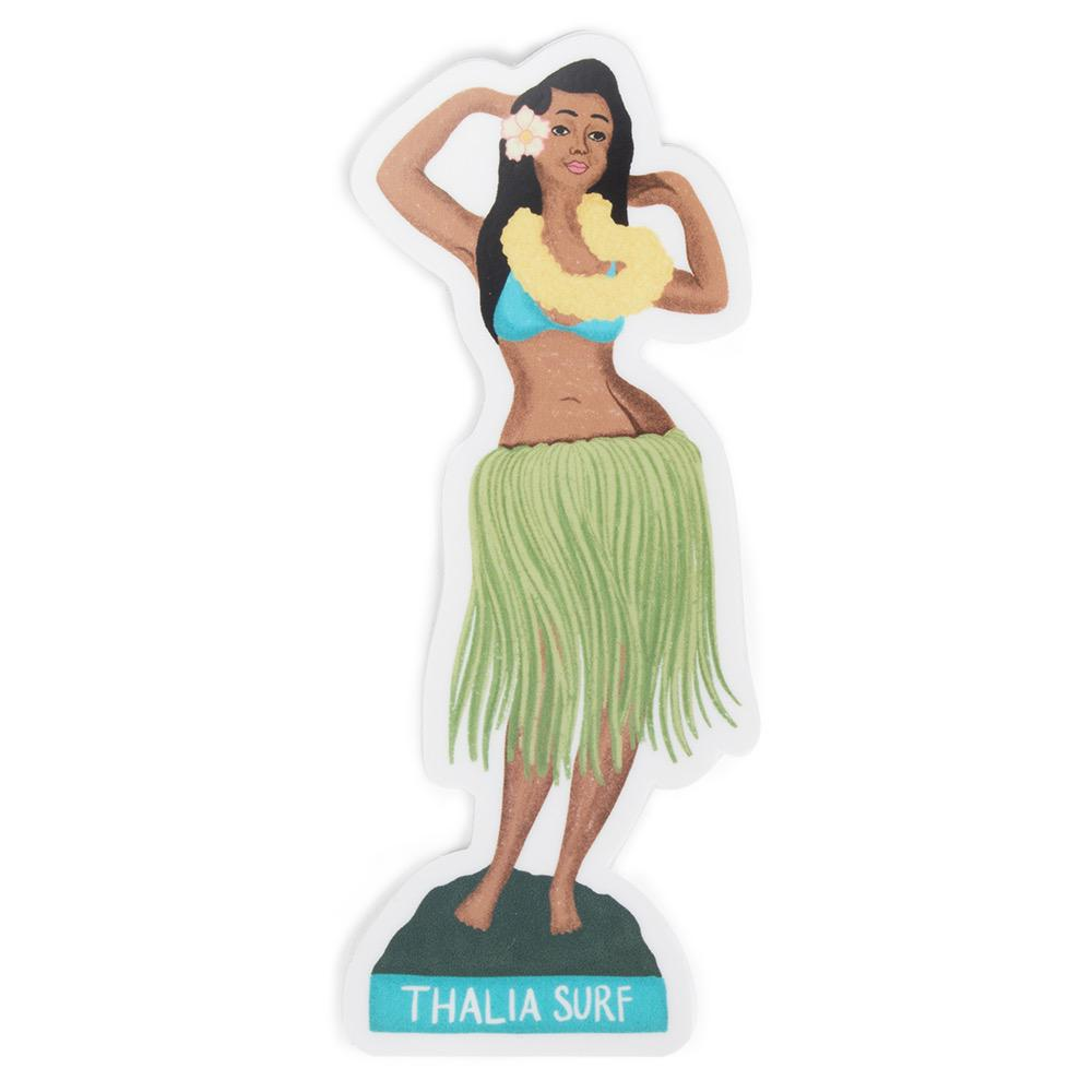 Thalia Surf Hula Girl Sticker