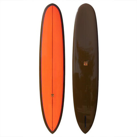 "Grant Noble x Russell Surfboards 9'6"" Noserider Surfboard"