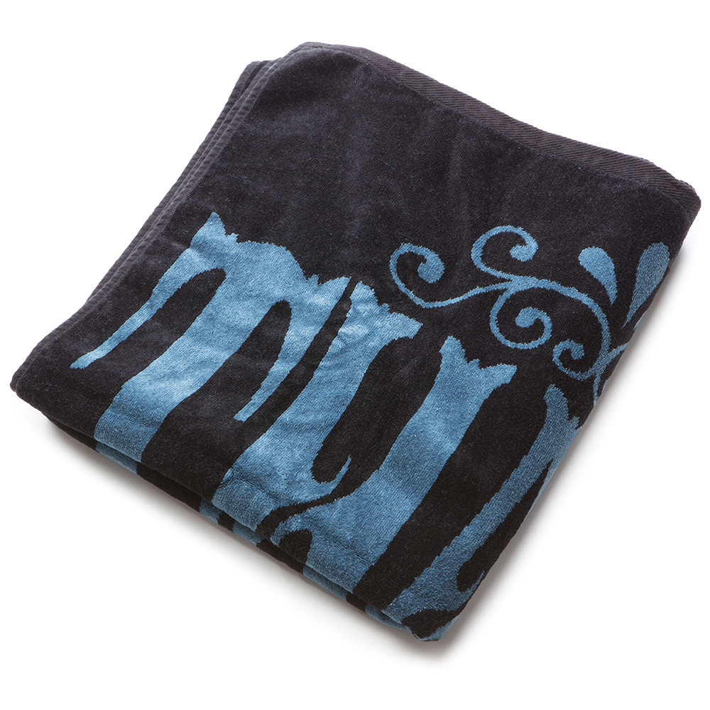 Thalia Surf Whip Cream Blue/Black Towel