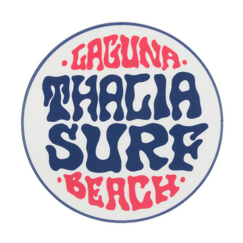 "Thalia Surf Water Color Dot Big 3"" Sticker"