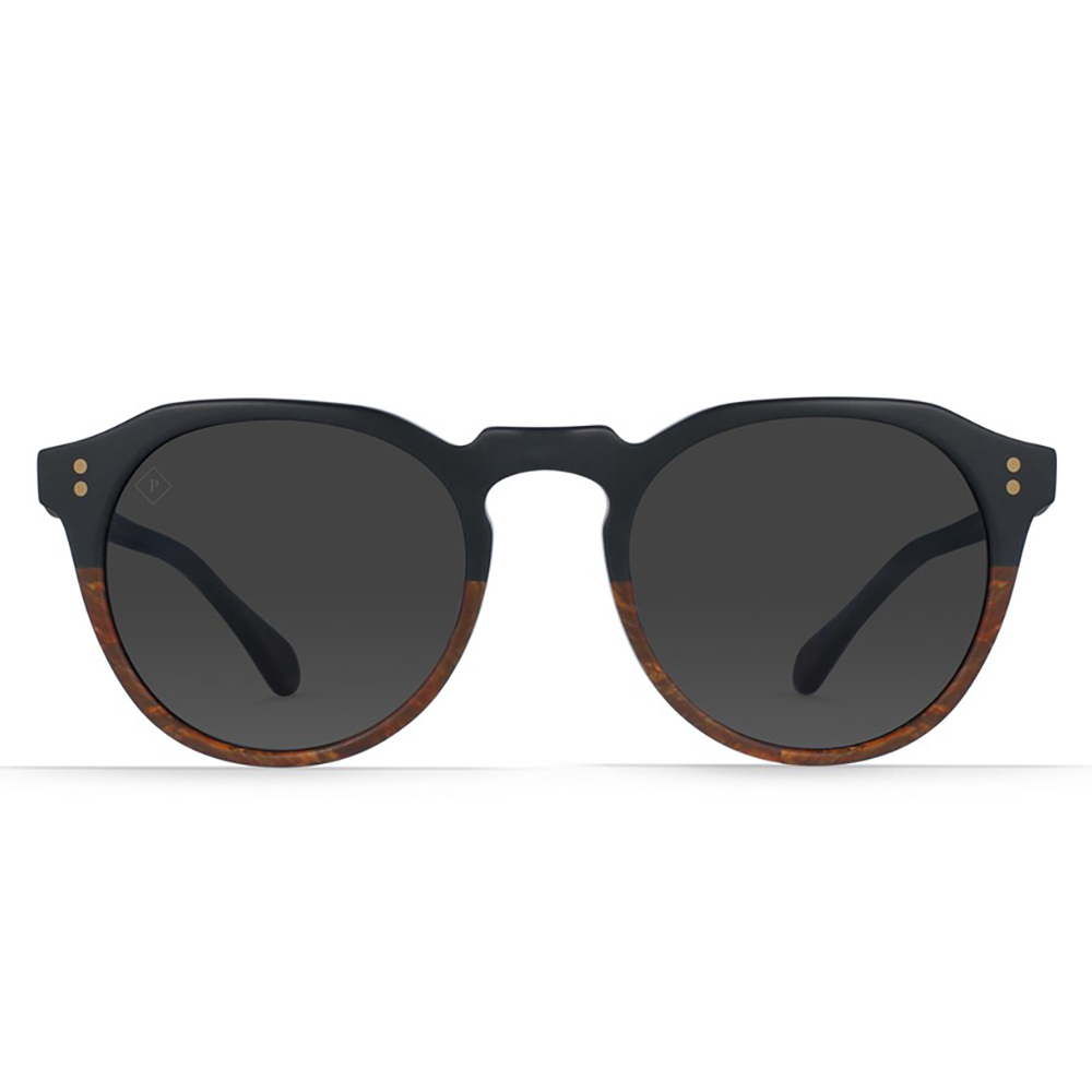 Raen Remmy 49 Polarized Burlwood Sunglasses