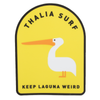Thalia Surf Keep Laguna Weird Sticker