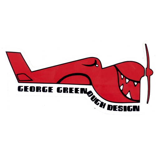 Greenough Designs Classic Sticker
