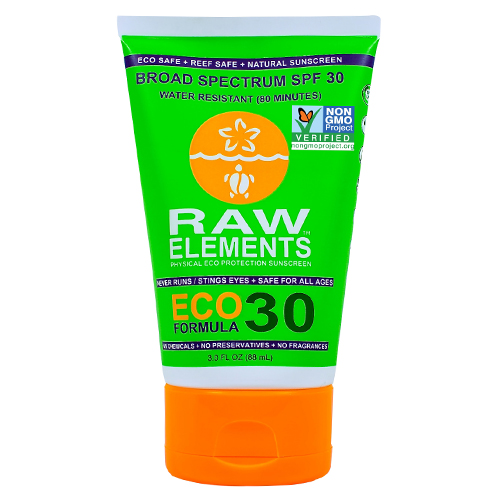 Raw Elements Eco Formula 30+ Sunscreen