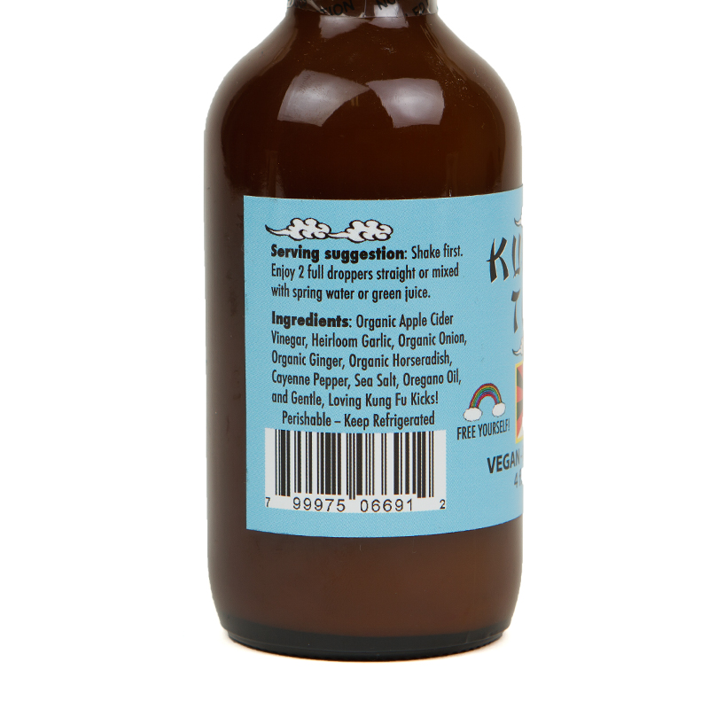 Kung Fu Tonic 4 oz Bottle