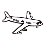 Valley Cruise Press High as Hell Enamel Pin