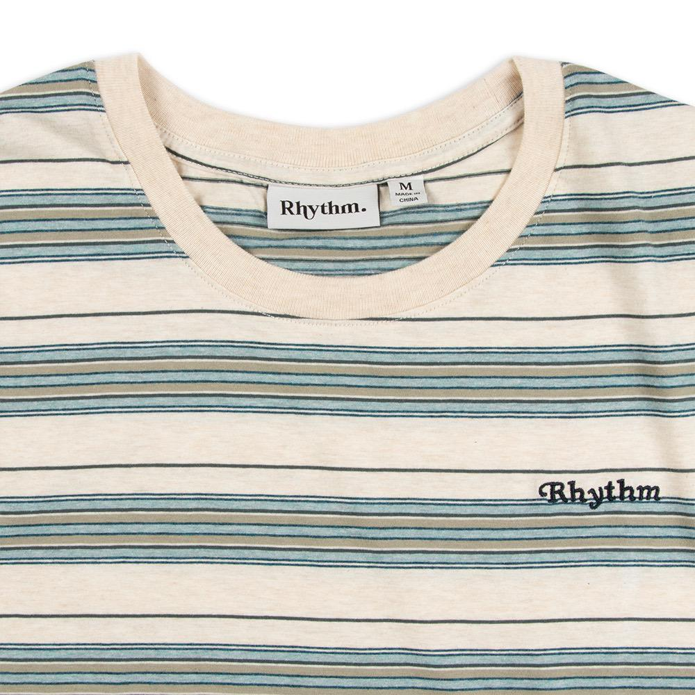 Rhythm Everyday Stripe Mens Tee