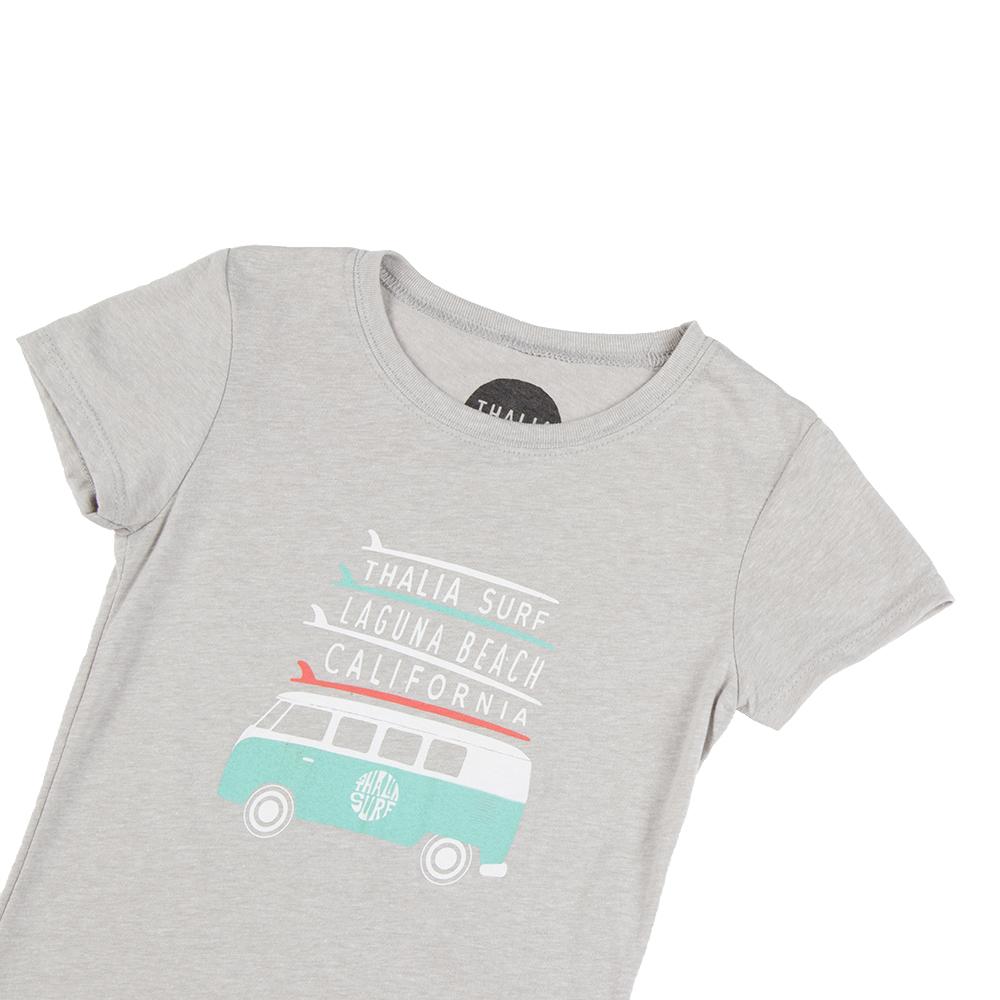 Thalia Surf Board Stack Kids Tee