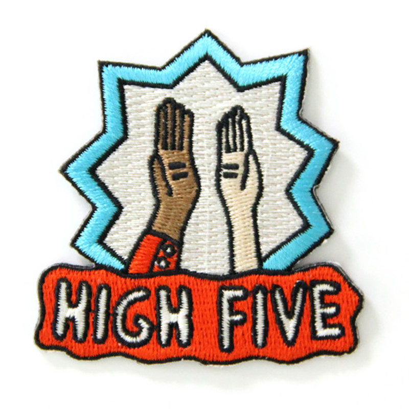 Mokuyobi High Five Patch
