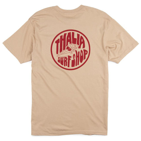 Thalia Surf Hot Curl Mens Ringer Tee