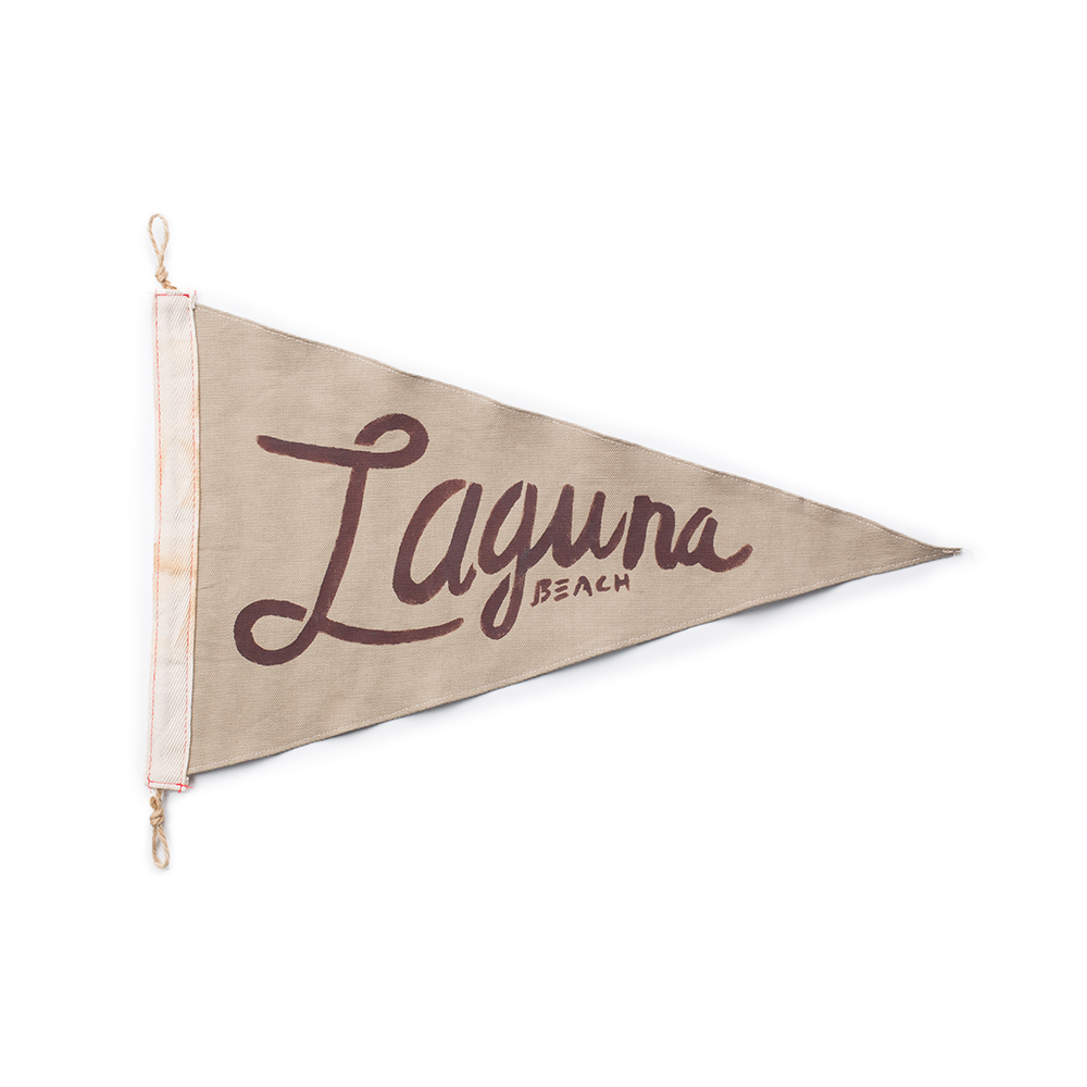 Slightly Choppy Laguna Beach Flag