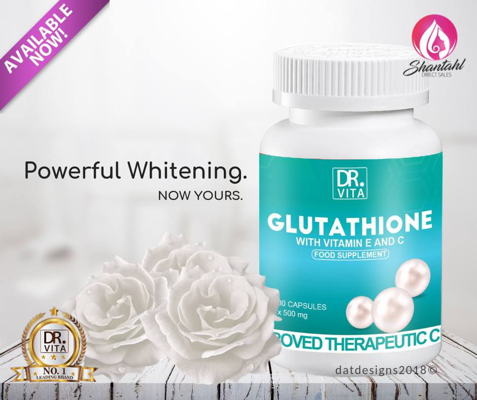 BEST SELLER - Dr  Vita Glutathione with Vitamin E and C (Free Shipping &  COD)