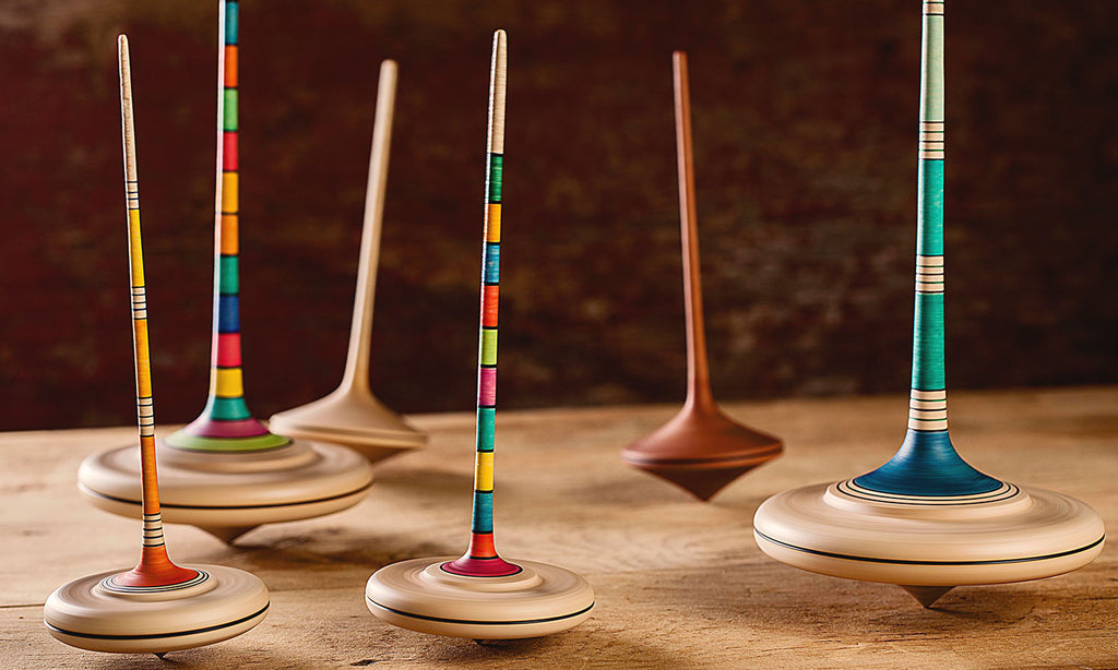 Toy Spinning Top : History of spinning tops art play
