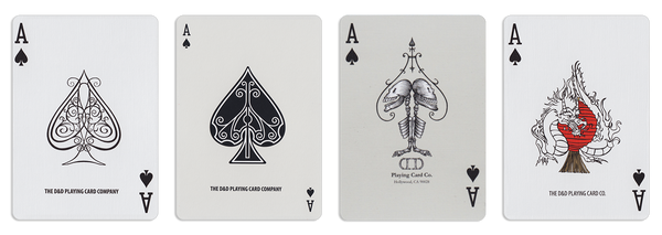 Fulton Playing Cards - Aces