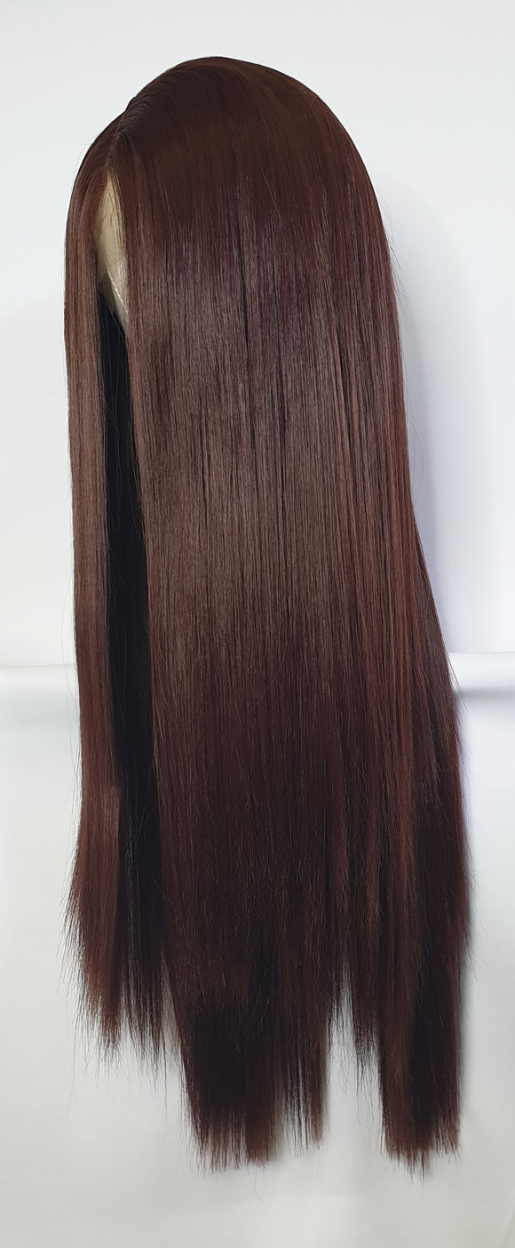 Warm Brown Lace Front Wig
