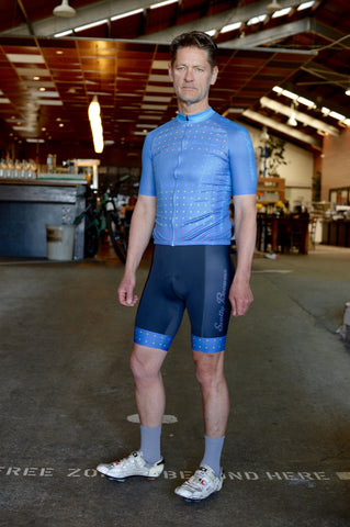 Scotty Browns Custom Clothing- Denim Daze Cycling Kit