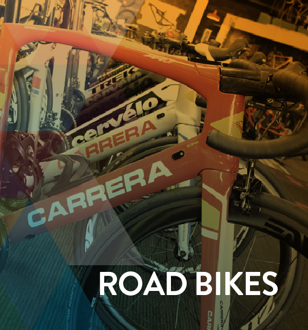 Click here to shop our Road Bike selection. Shop bikes from the following brands; Cervelo, Pinnarello, Scott, Trek, Colnago, No.22, Factor and Chapter 2