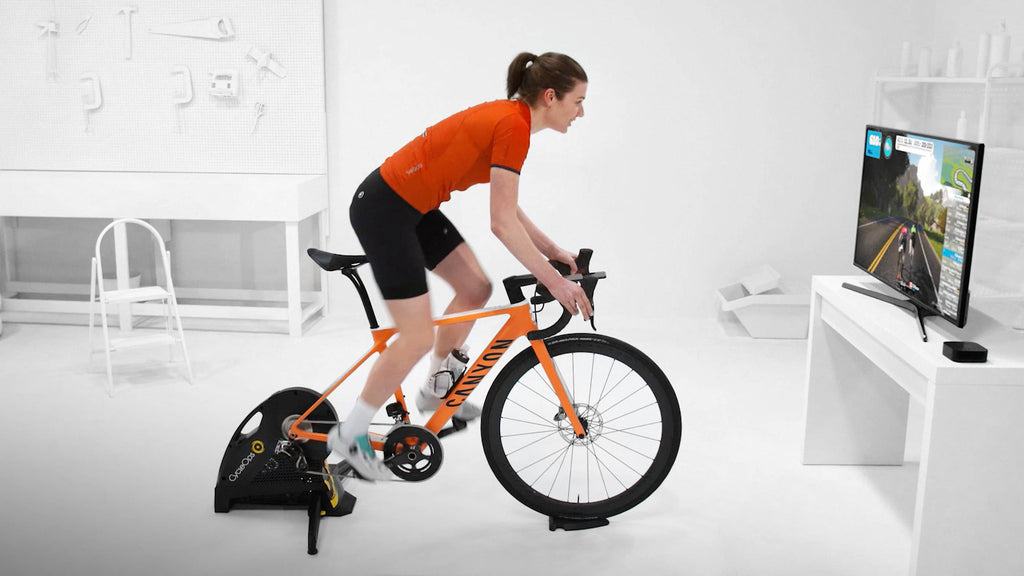 Zwift - VR Training-  Freaky!