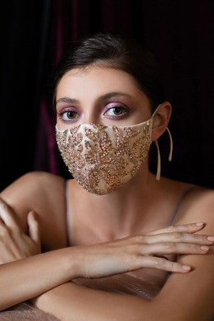 Beaded Face Masks Now Available