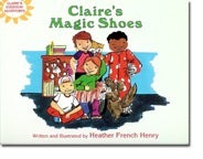 Autographed Sets of Adventures of Claire Set of 4 - AND SAVE!!!!