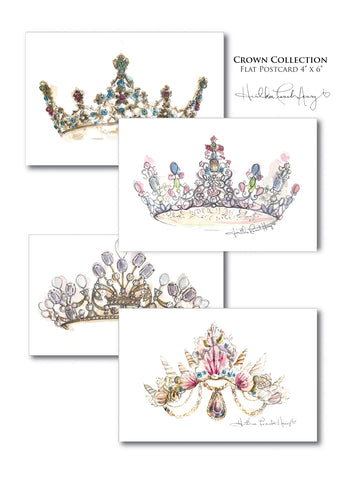 Crown Collection Notecard 20 Piece Set