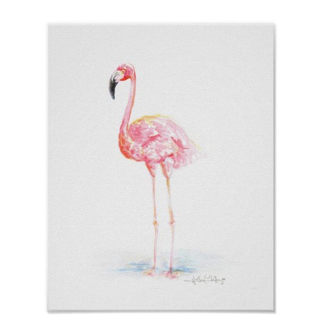 Flamingo Sensation Print 11x14