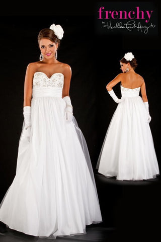 HH1008 Princess Ball Gown by Frenchy Prom