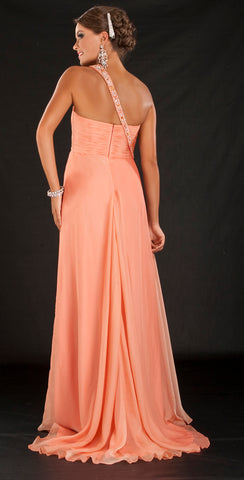 HPM1037 Coral Dream Gown