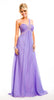ONE SHOULDER EMPIRE WAIST GRECIAN GOWN BY HEATHER FRENCH HENRY HPM1109