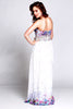 HPM 3005 Frenchy Strapless Gown with AB Beaded Waistline