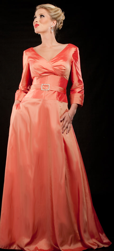 Mother of the Bride Gown with Pockets