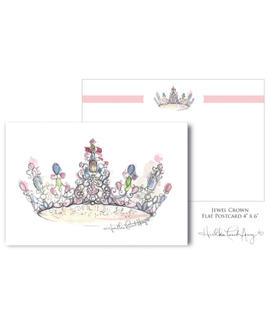 Jewel Crown Notecard 20 Piece Set