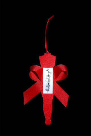 White Christmas Ornaments at Rose Hill Boutique.