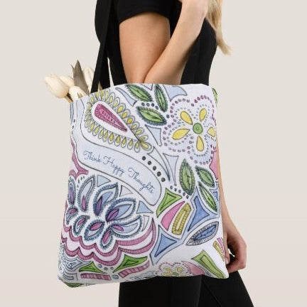 Frenchy Paisley Tote