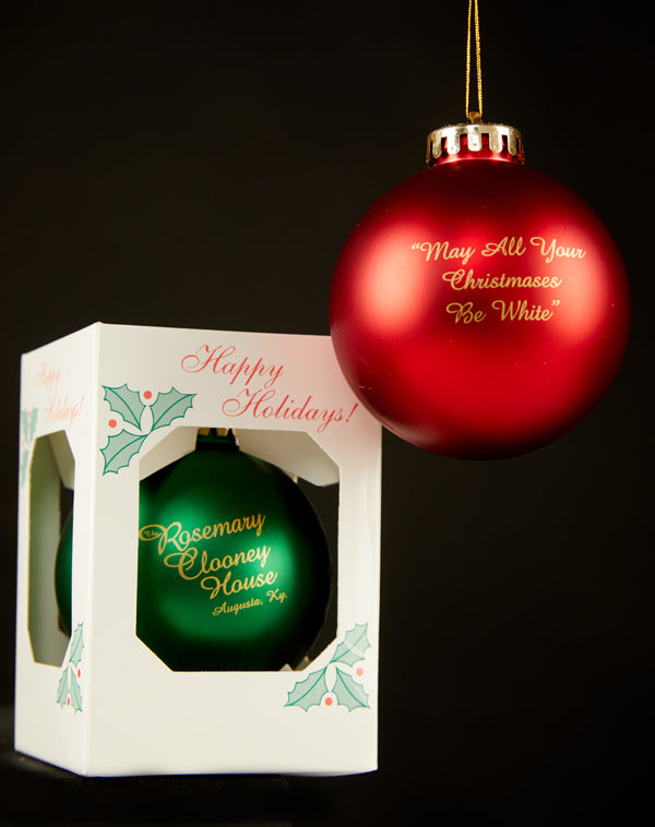 Rosemary Clooney Museum Ornament
